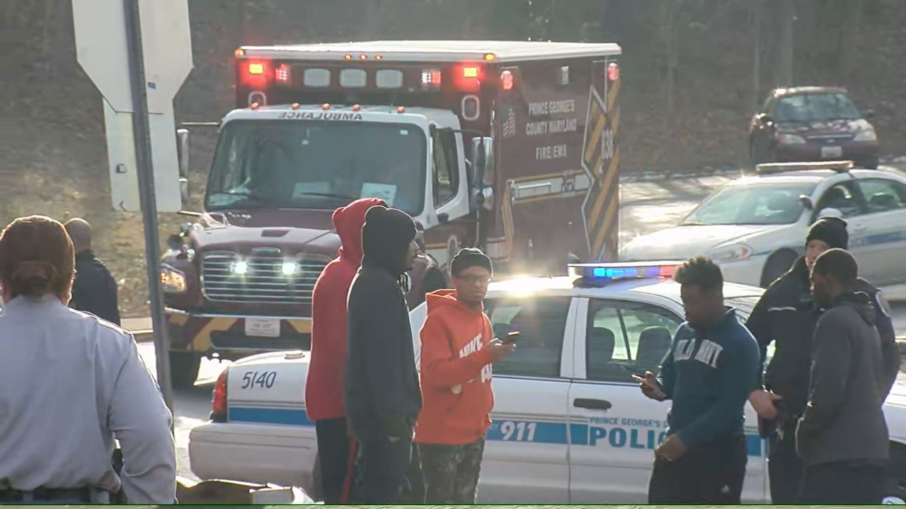 Two students were hospitalized after a third assaulted them with a knife Thursday morning at Central High School in Prince George's County, Md. (WJLA)