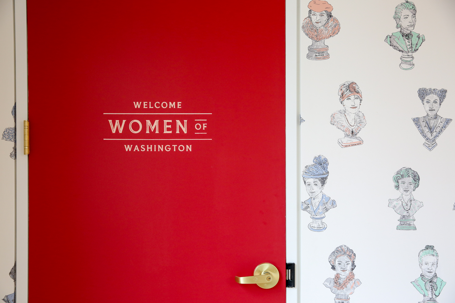 The Wing, a networking and co-working community for women, is opening{ } a D.C. location in Georgetown on Thursday, April 12. (Image: Amanda Andrade-Rhoades/ DC Refined)