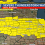 Threat of severe storms this weekend