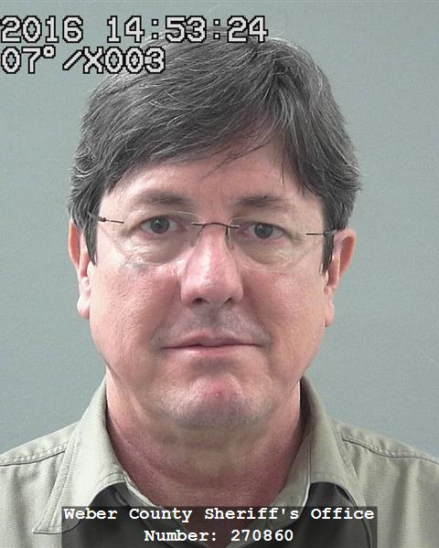 Lyle Jeffs' most recent mug shot (Photo courtesy Weber County Sheriff's Office)