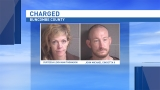 Buncombe County man and woman accused of stealing trailers, vehicle