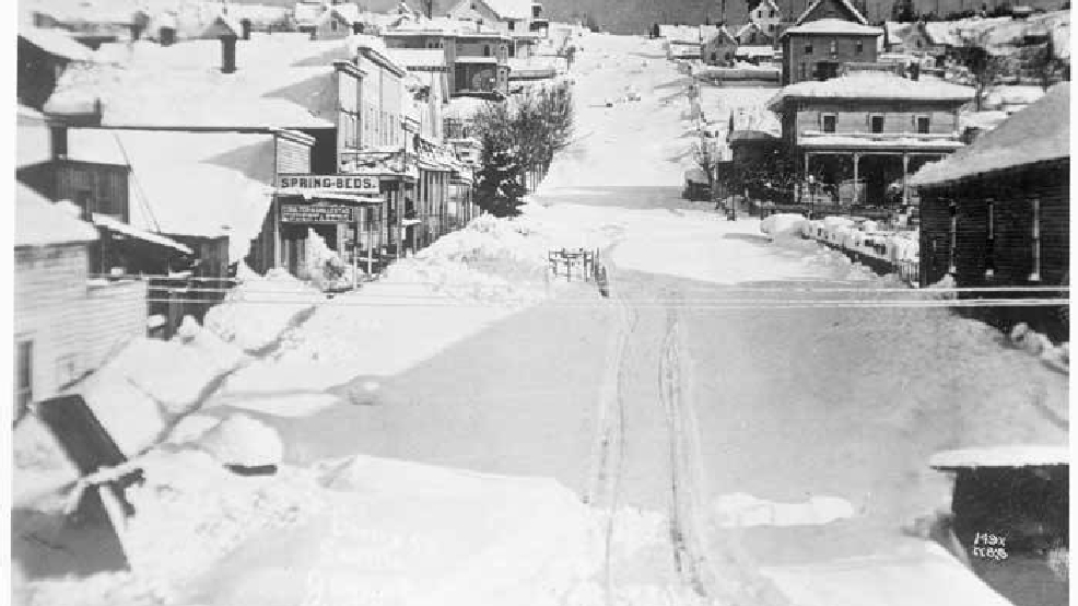 5 feet of snow in Seattle? It happened 137 years ago today
