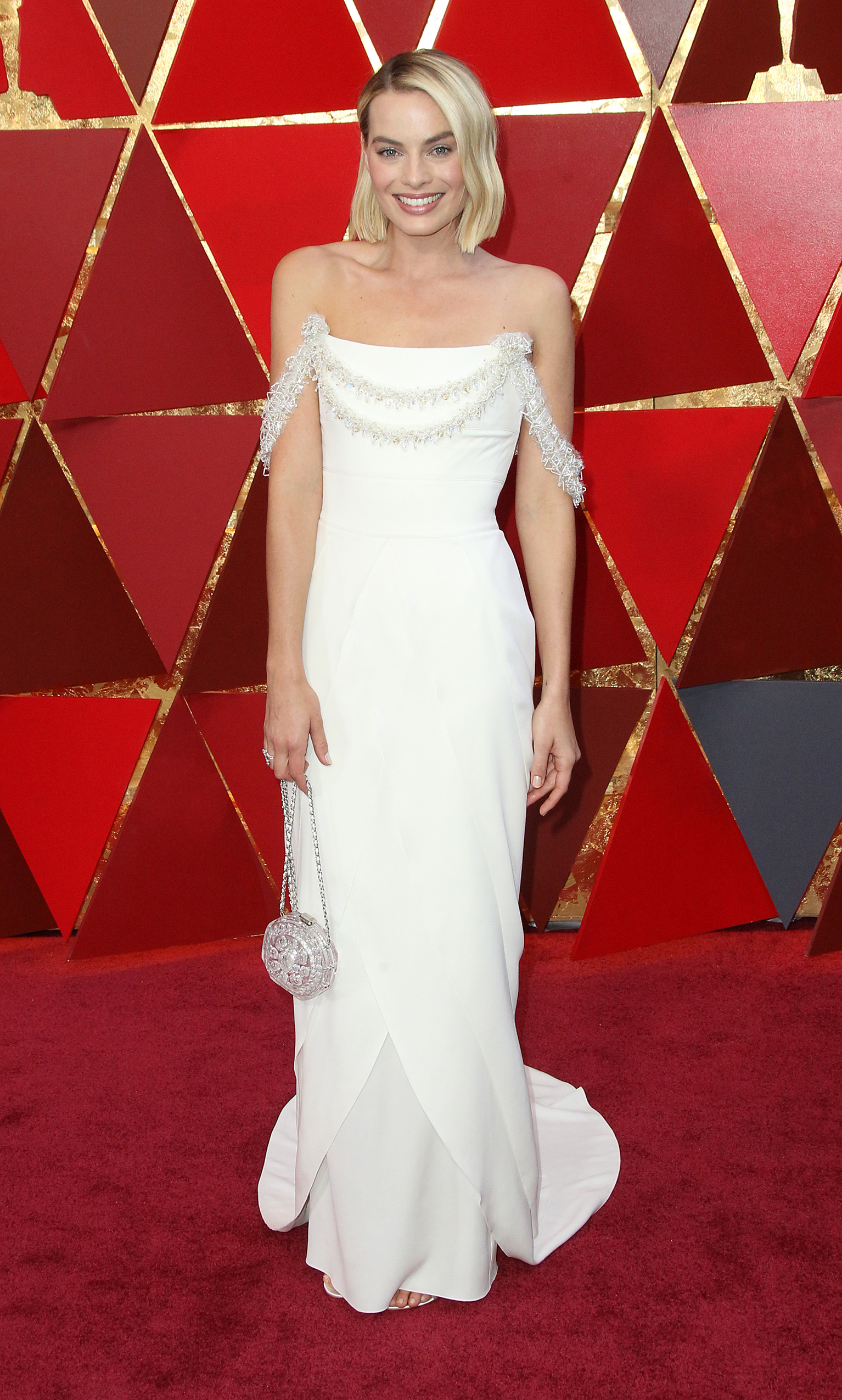 Margot Robbie{&amp;nbsp;}arrives at the 90th Annual Academy Awards (Oscars) held at the Dolby Theater in Hollywood, California. (Image: Adriana M. Barraza/WENN.com)<p></p>