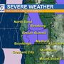 Winter weather expected for Southern Oregon this morning