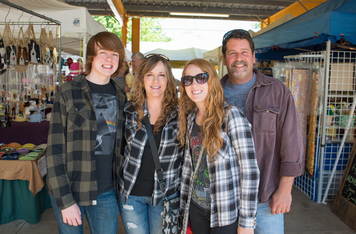Hunter McGuire, Tammy Wagers, McKenzie Glass, and Bill Culbertson / Image: Sherry Lachelle Photography