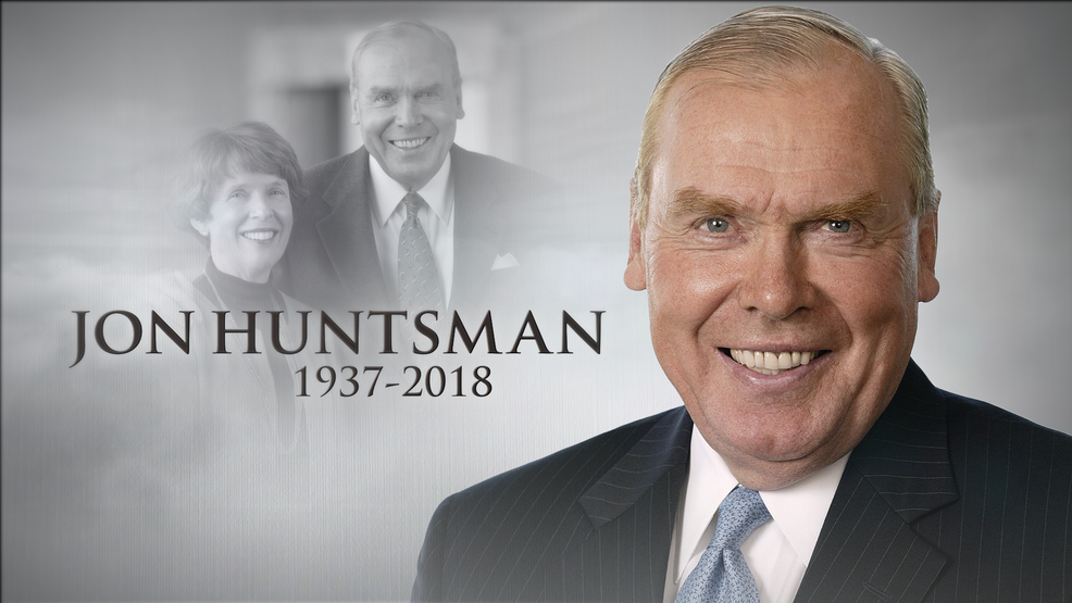 IMG JON HUNTSMAN Sr, Utah Billionaire and Philanthropist