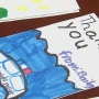 Cards for cops; Gardendale children write love letters to police