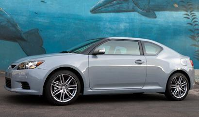 This 2-door coupe makes a good starter car for twenty-somethings striking out on their own for the first time. Well-balanced and budget-friendly, the Scion tC boasts sporty lines, agile handling and a decent four-cylinder engine.Base MSRP: $19,480