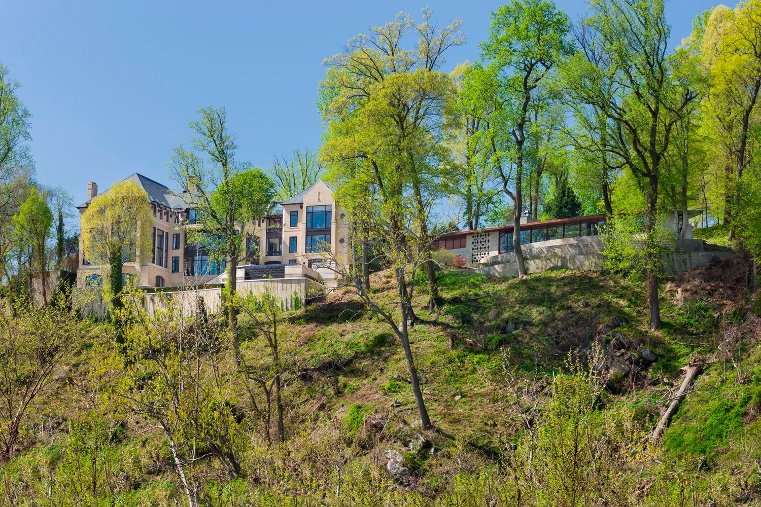 For $62.95 million, you could buy more than 1700 Tesla model 3's or almost 70,000 pairs of Christian Louboutin shoes. Or you can buy a 48,000+-square-foot mansion overlooking the Potomac River with nine bedrooms, 20 bathrooms, a garage that can accommodate over 30 cars and a guest house designed by Frank Lloyd Wright.{ } (Image: Gordon Beal)