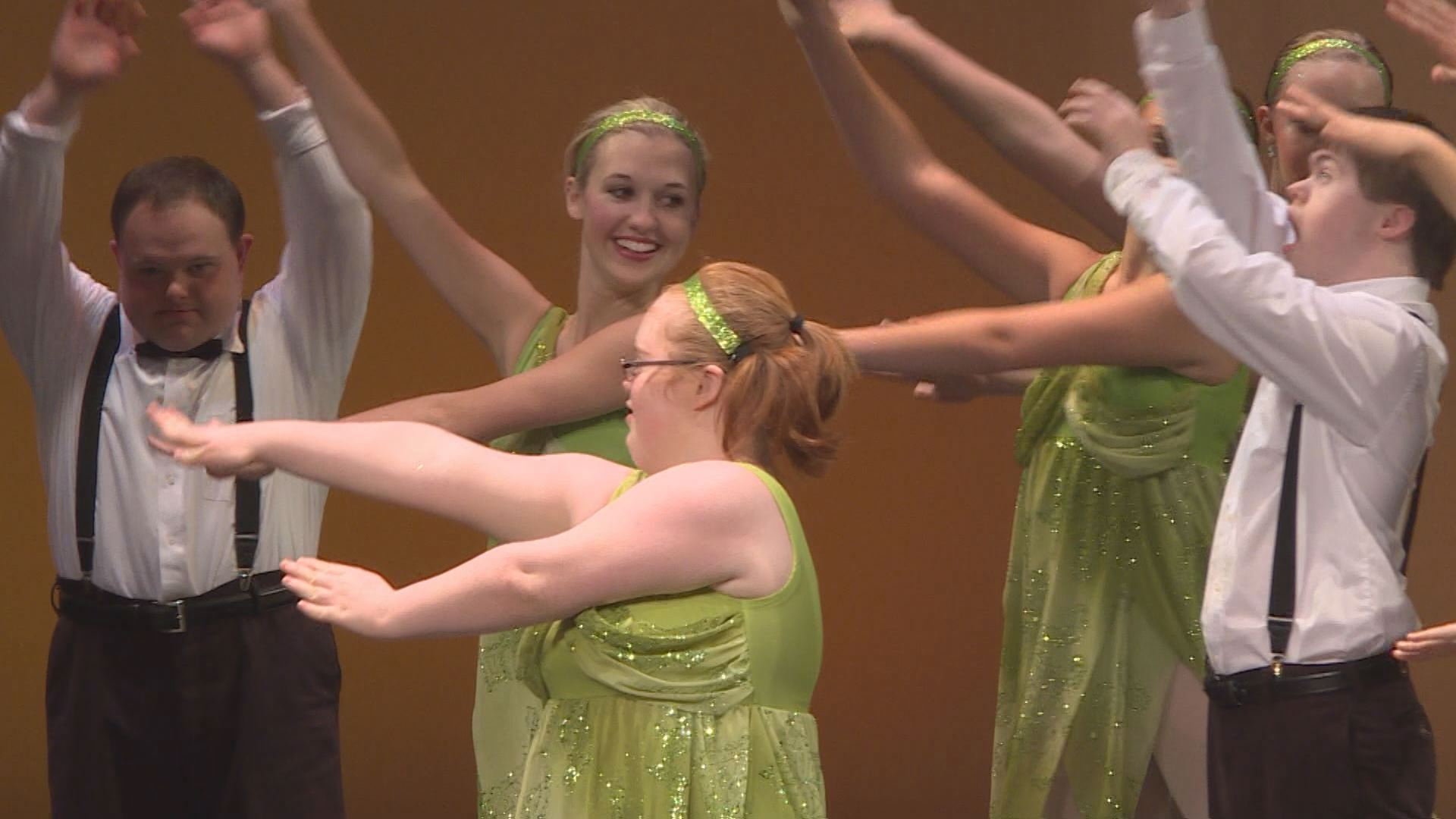 "Jenna Lyon, 21, started ""Chance to Dance"" five years ago when she was a student at Scott County High School"