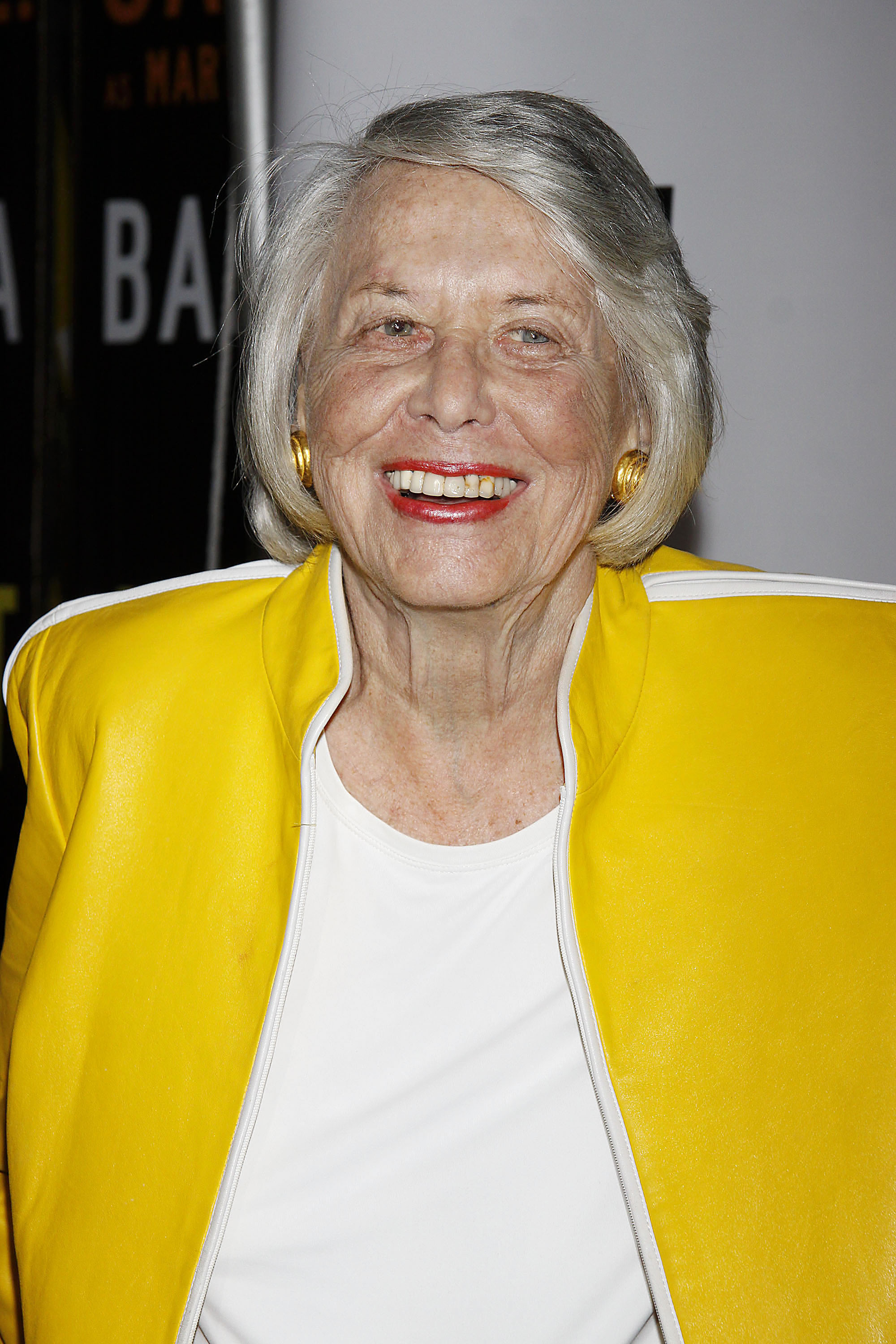 Liz Smith                                    Opening night of the Broadway play 'The Mountaintop' at the Bernard B Jacobs Theatre - Arrivals.                                    Featuring: Liz Smith                  Where: New York City, United States                  When: 13 Oct 2011                  Credit: Joseph Marzullo/Wenn.com