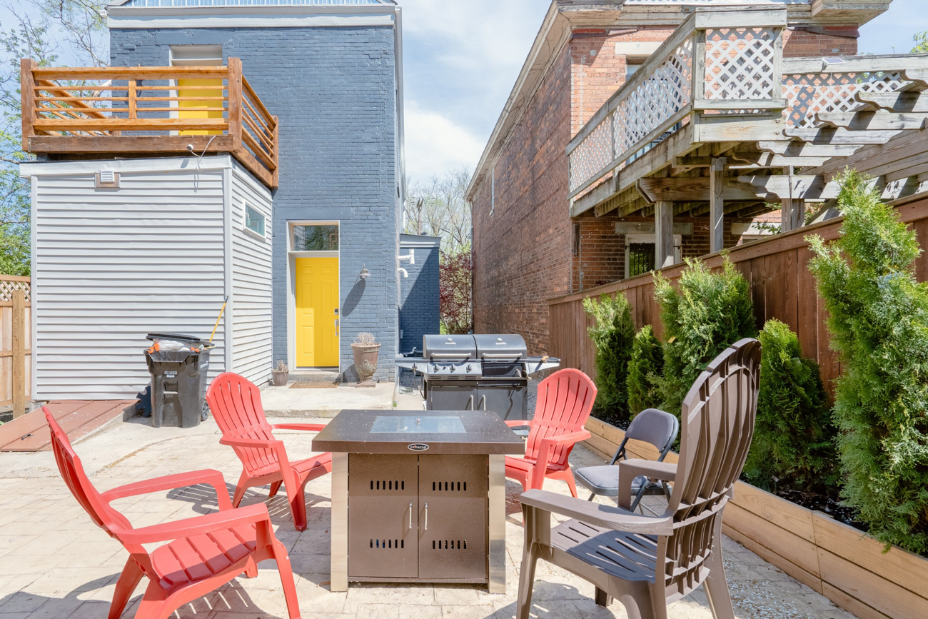 It has an outdoor patio as well. / Image courtesy of Tom Sinclair // Published: 1.16.20
