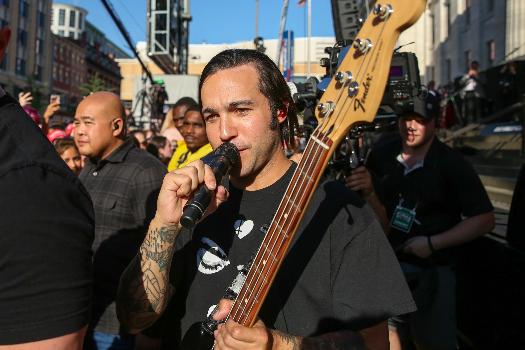 Fall Out Boy's Pete Wentz. (Amanda Andrade-Rhoades/DC Refined)