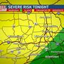 Mike Linden's Forecast | Severe storm threat brings damaging winds, hail & rain