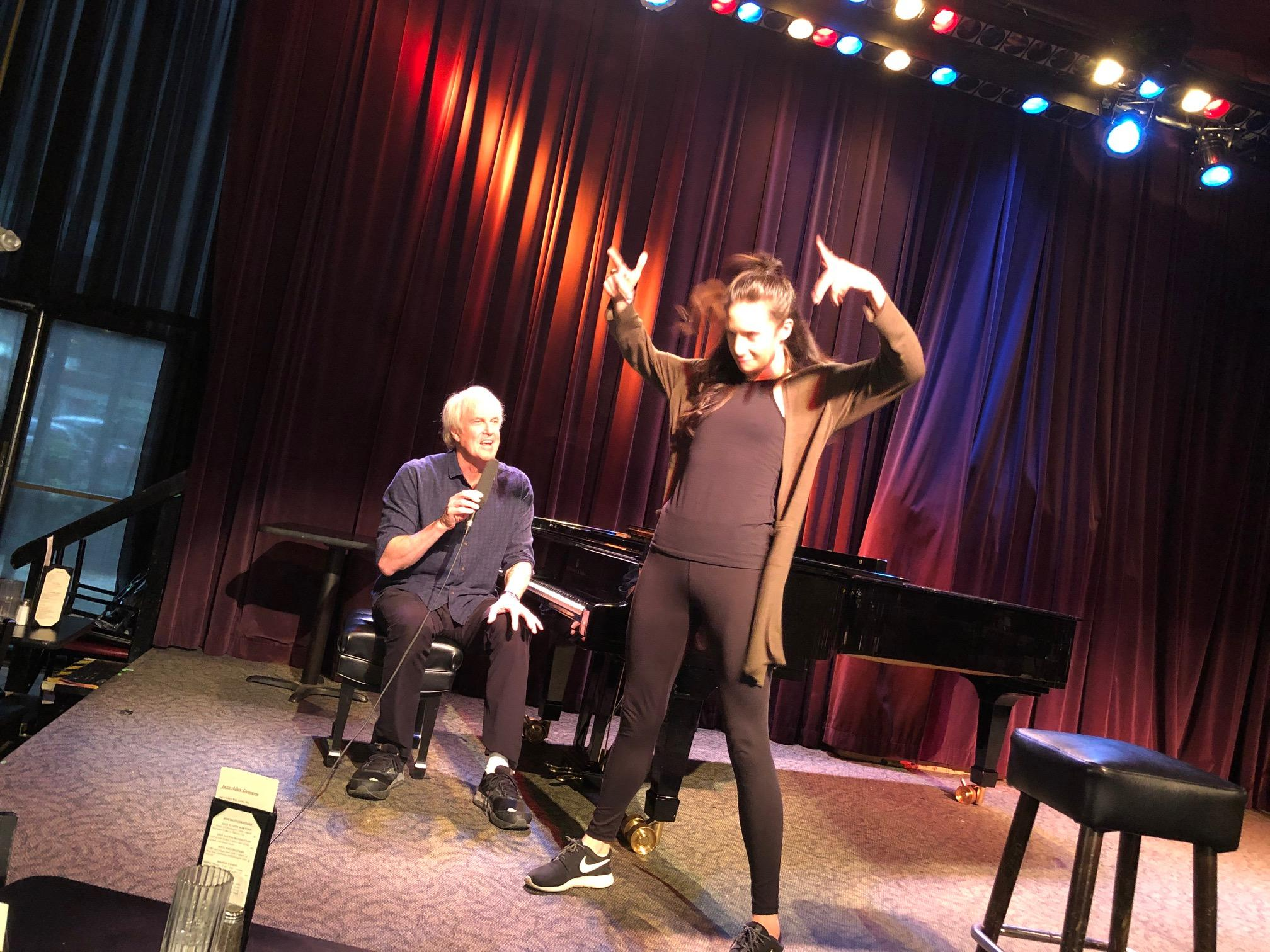 John Tesh performing with his daughter Prima, a professional dancer.{&nbsp;}(Photo: Seattle Refined)<br><p></p>