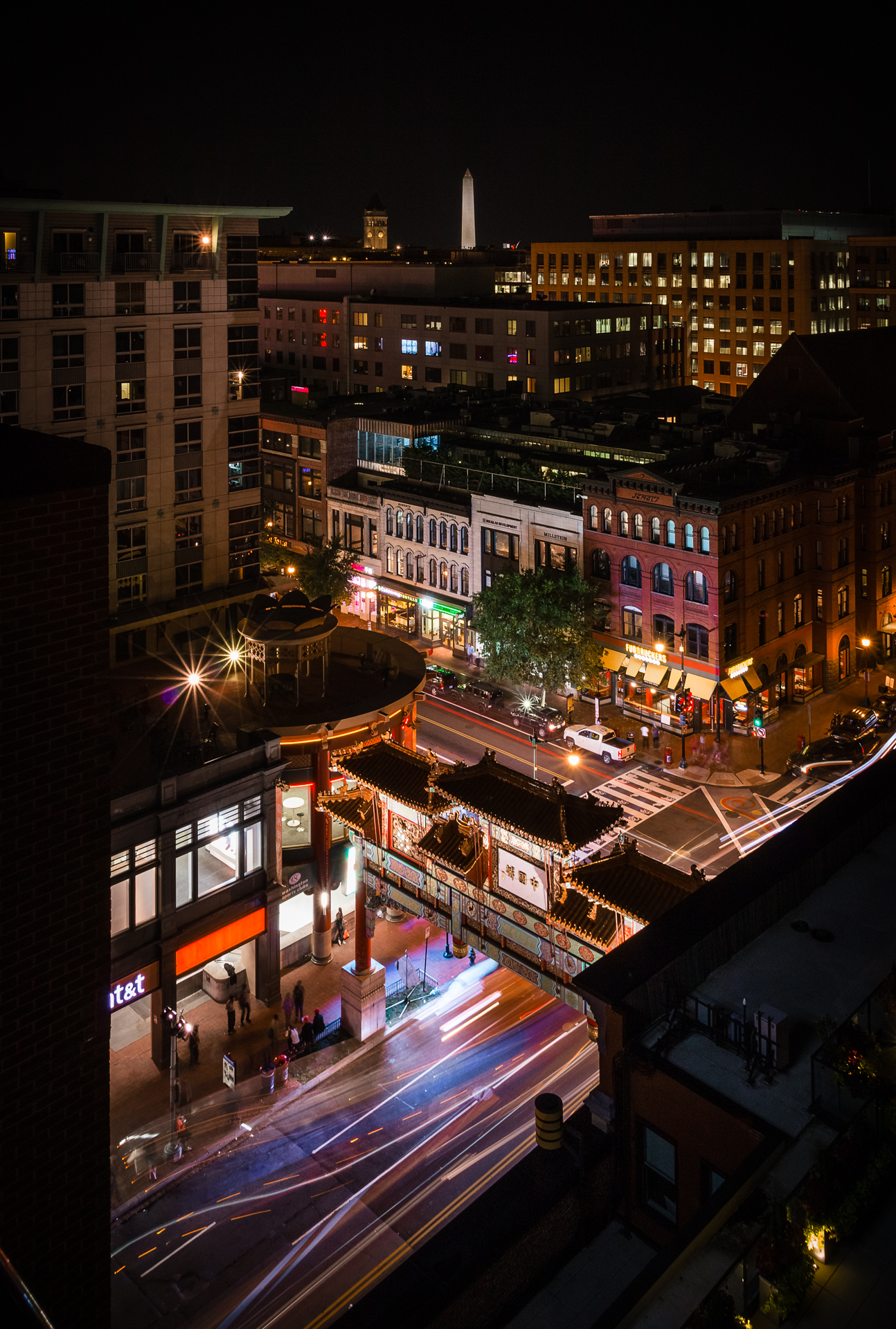 Chinatown Nights – Chinatown seen from above at night{&nbsp;}(Image: Zack Lewkowicz)<p></p>