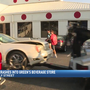 Woman crashes car into Midlands liquor store