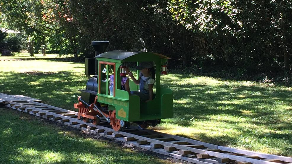 Ooltewah Grandfather Builds Backyard Train