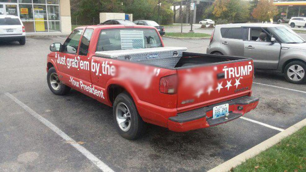 Truck Quotes Alluring Antitrump Truck With Obscene Quotes Spotted In Ohio And Kentucky