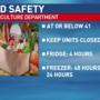 PA agriculture department on food safety during an outage