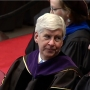 Governor Rick Snyder gives commencement for Western Michigan University