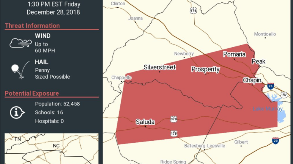 nws tornado warnings lifted in multiple midlands counties wach