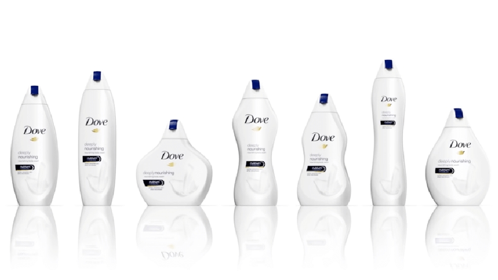 Dove's new body wash bottles have people confused, angry and amused