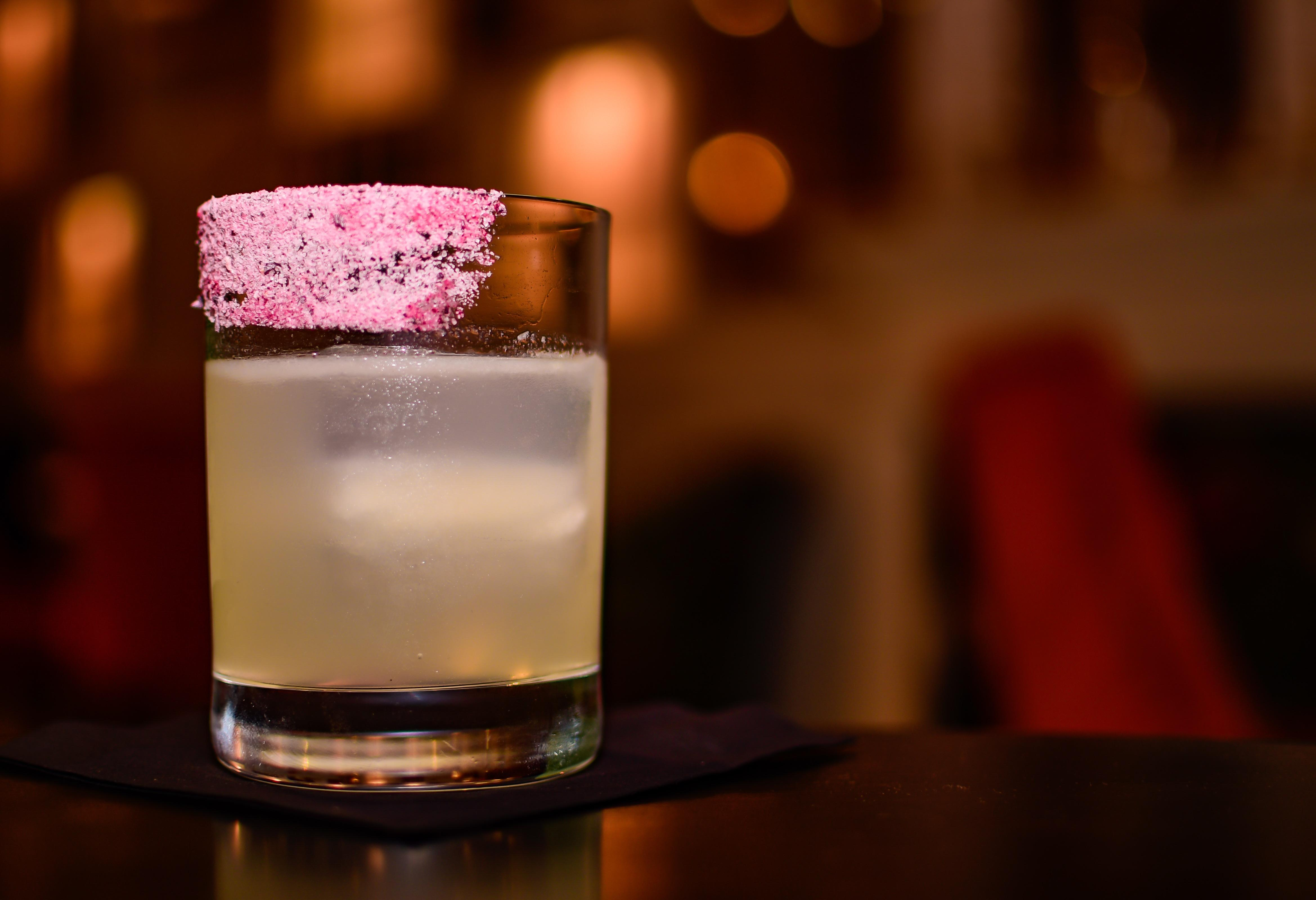 Serbian Sombrero -- Pink Peppercorn Tequila | Jalapeño Triple Sec | Sour Mix | Rose Water | Mexican Salt.{ }On the menu at Baba. (Image: Courtesy Baba)