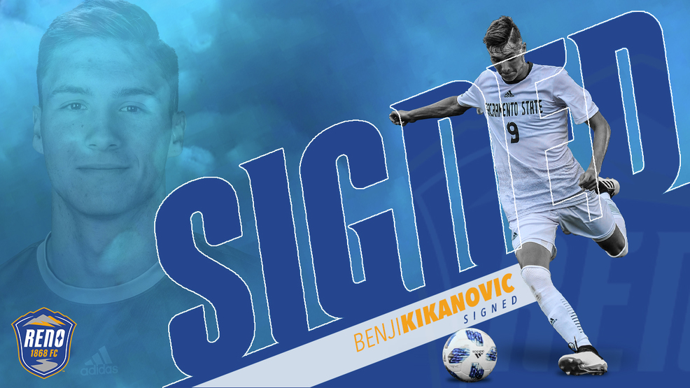 Reno 1868 Signs Former Collegiate Striker Benjamin Kikanovic