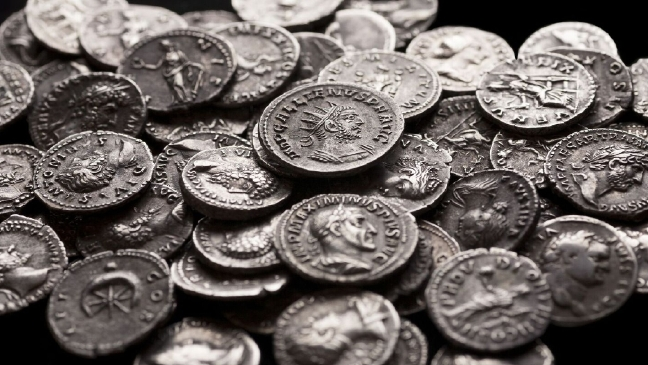 Ancient Roman Coins Discovered At Japanese Castle In Okinawa