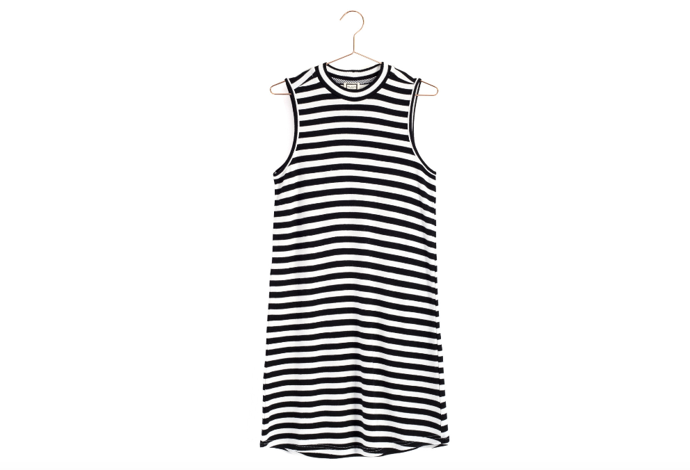 Knit Striped Sleeveless Dress from Moorea Seal Collection ($89). Find on mooreaseal.com. (Image: Moorea Seal)