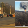 Town reacts to gas well fire and missing workers