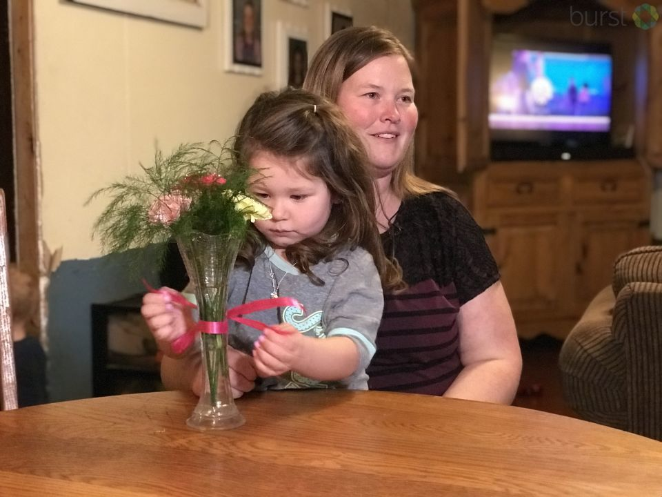 One Midland family has a special guest at their table, but this year she will be sitting in a permanent seat.{ }(Photo: WEYI/WSMH)