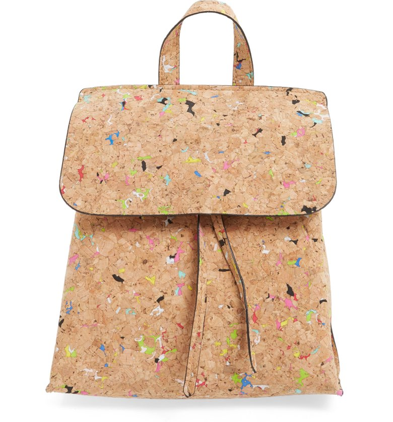 2 Street Level Cork Texture Backpack ($45). It's time to celebrate Momma.  Here is our Nordie's gift guide for items under $50! (Image: Nordstrom)
