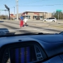Act of kindness: Man stops traffic to help older woman cross the street