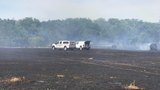 Caldwell County wildfire contained