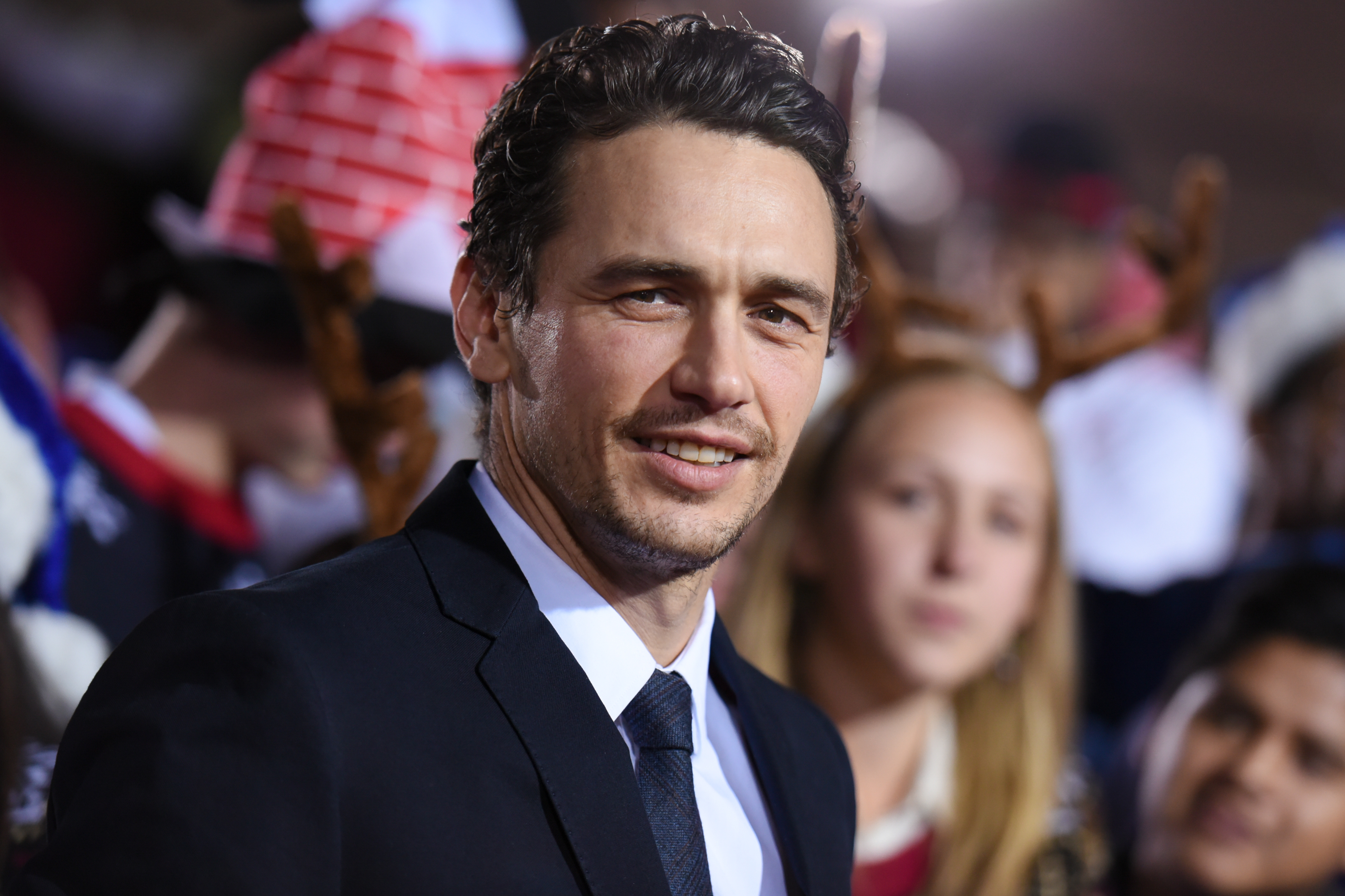 "FILE - In this Nov. 18, 2015 file photo, actor James Franco attends the LA Premiere of ""The Night Before"" held at The Theatre at Ace Hotel in Los Angeles. The Zola twitter story about a wild road trip to Florida that went viral late last year is in development to be turned into a feature film that Franco is to direct. (Photo by Richard Shotwell/Invision/AP, File)"