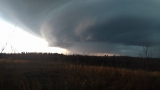 Incredible videos, photos document Lewis County, Tenn. shelf cloud