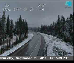I-80 Soda Springs. Courtesy Caltrans