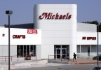 A Michaels store is shown in Dallas, Thursday, June 15, 2006. (AP Photo/Donna McWilliam)