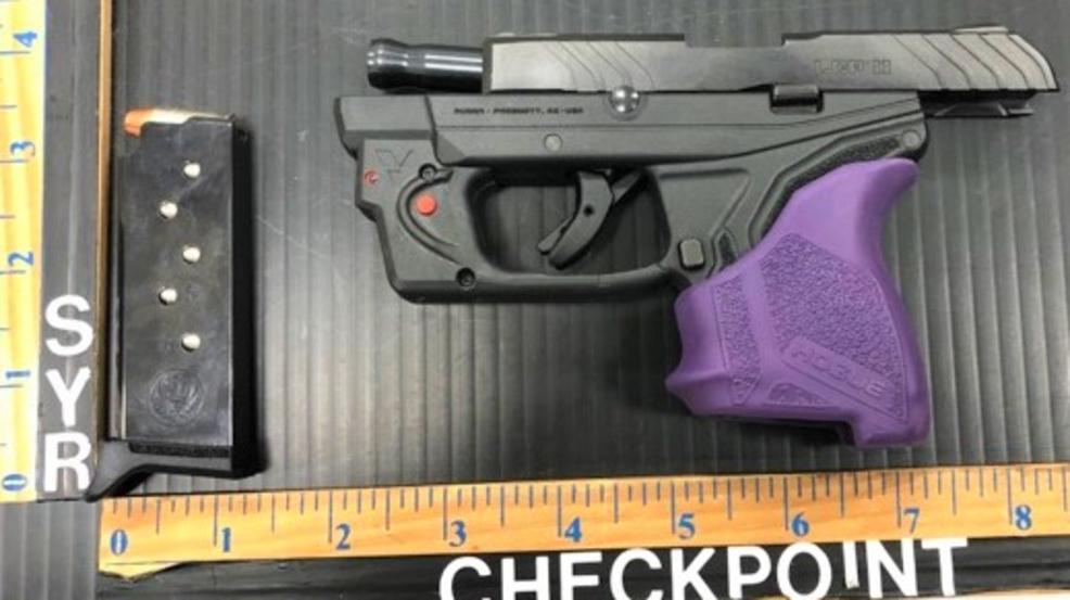 TSA: Woman caught with loaded gun at Syracuse airport