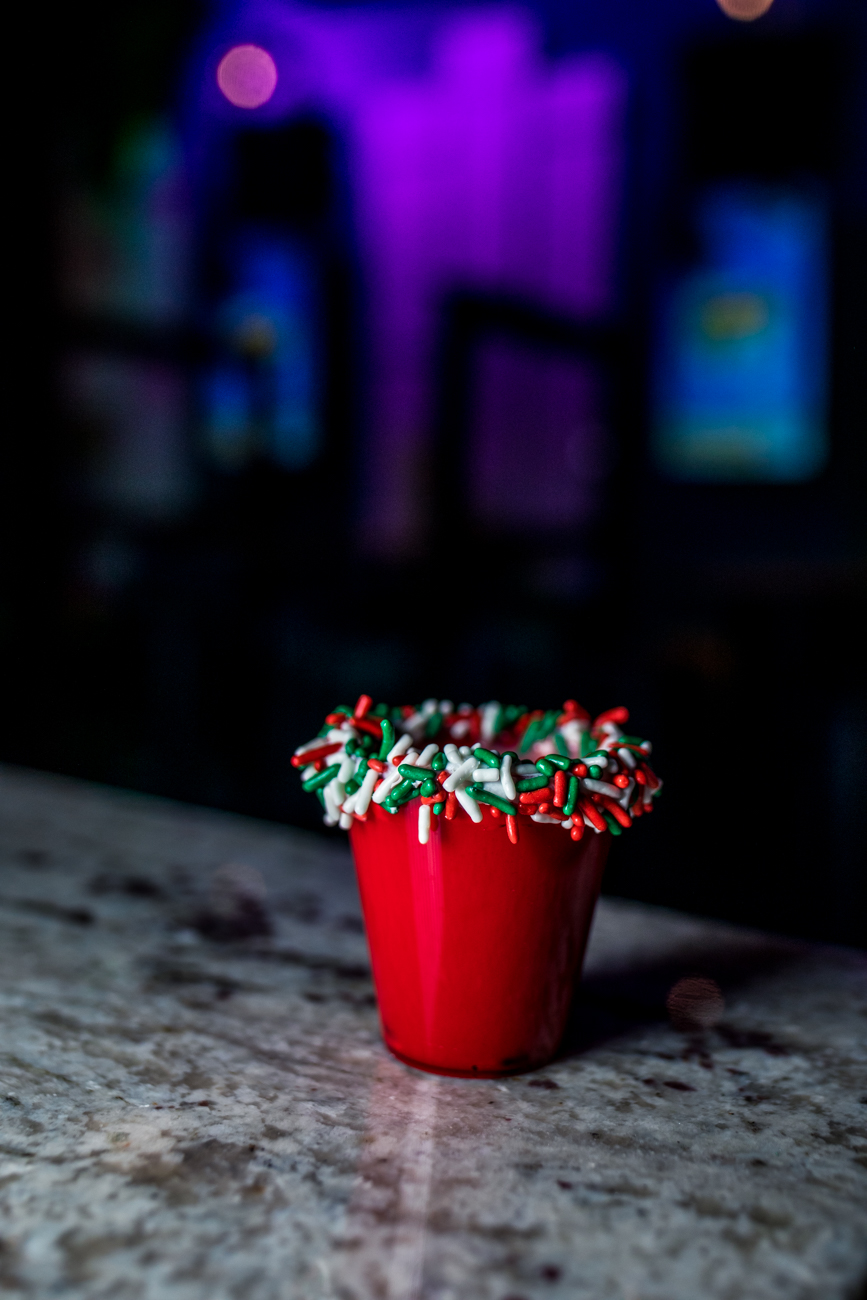 Red Velvet Christmas Cake Shot / Image: Catherine Viox{ }// Published: 12.21.20