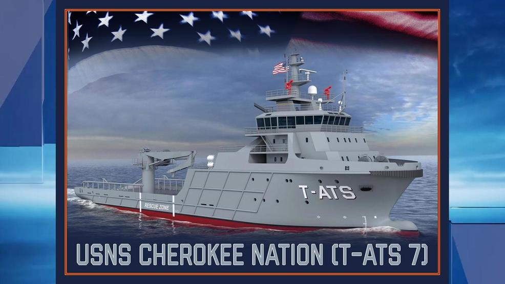 US Navy names new ship 'Cherokee Nation'