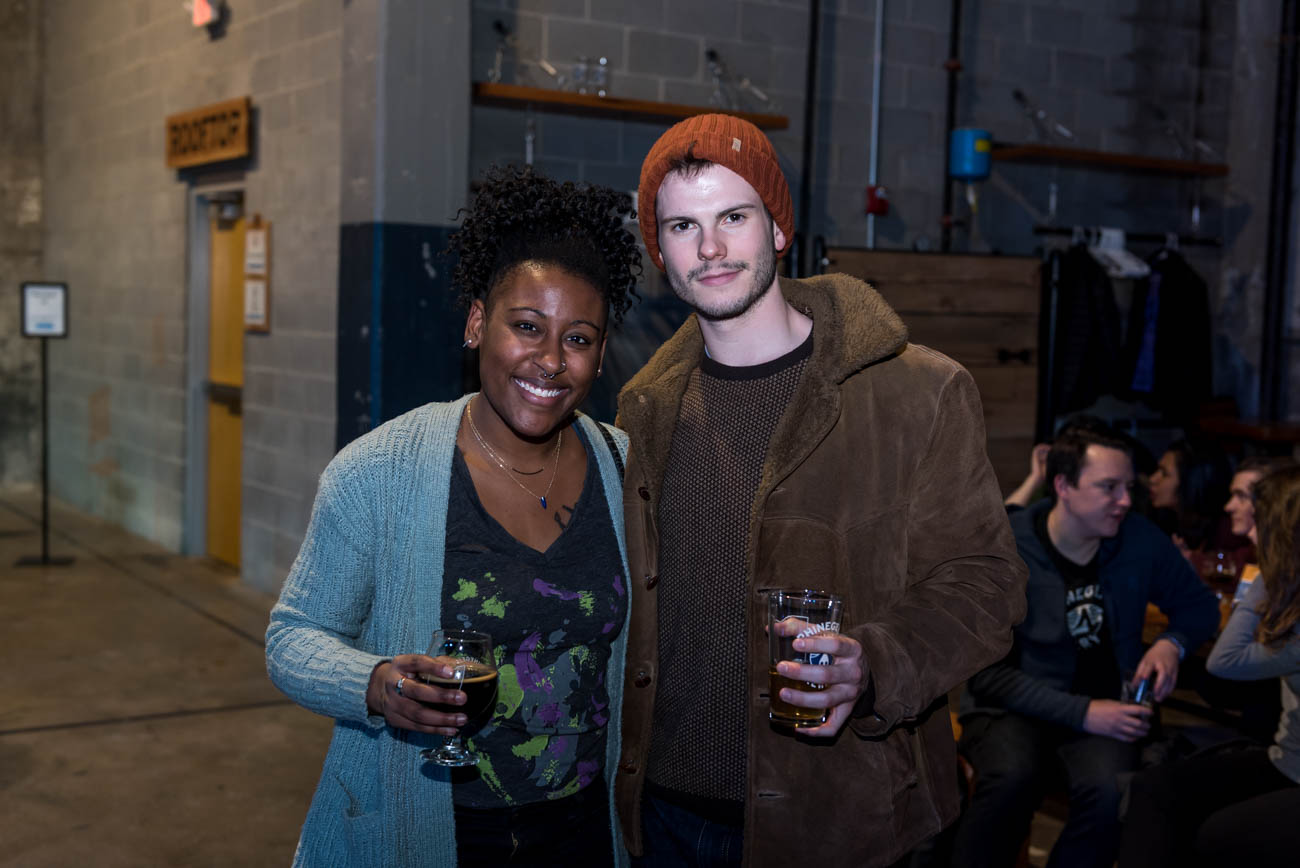 Pictured: Ashley Morton and Christian Renforth / Event: MOVE at Rhinegeist (1.18.18) / Image: Mike Menke // Published: 2.2.18