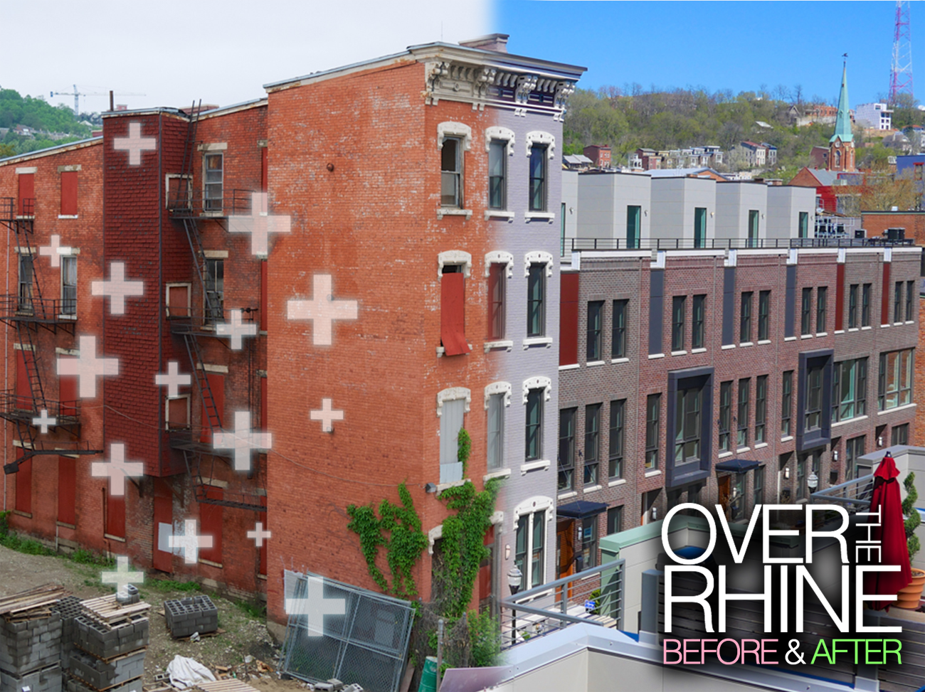"Over-the-Rhine: Before & After / ""I want Cincinnati's urban neighborhoods to continue to grow and develop [...]. And I want to see more locals drop the 'Cincinnati's just OK' attitude and start taking advantage of all the great assets that our city has."" -- Travis Estell"