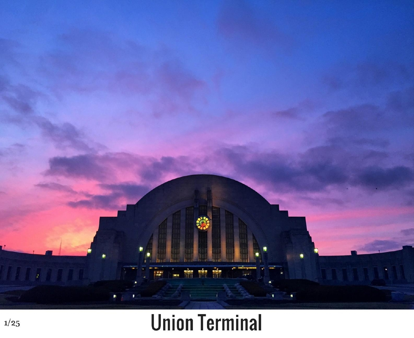 WHAT: Union Terminal / WHERE: 301 Western Avenue, Queensgate 45203 / Image: Maria Dehne / Published: 10.27.16