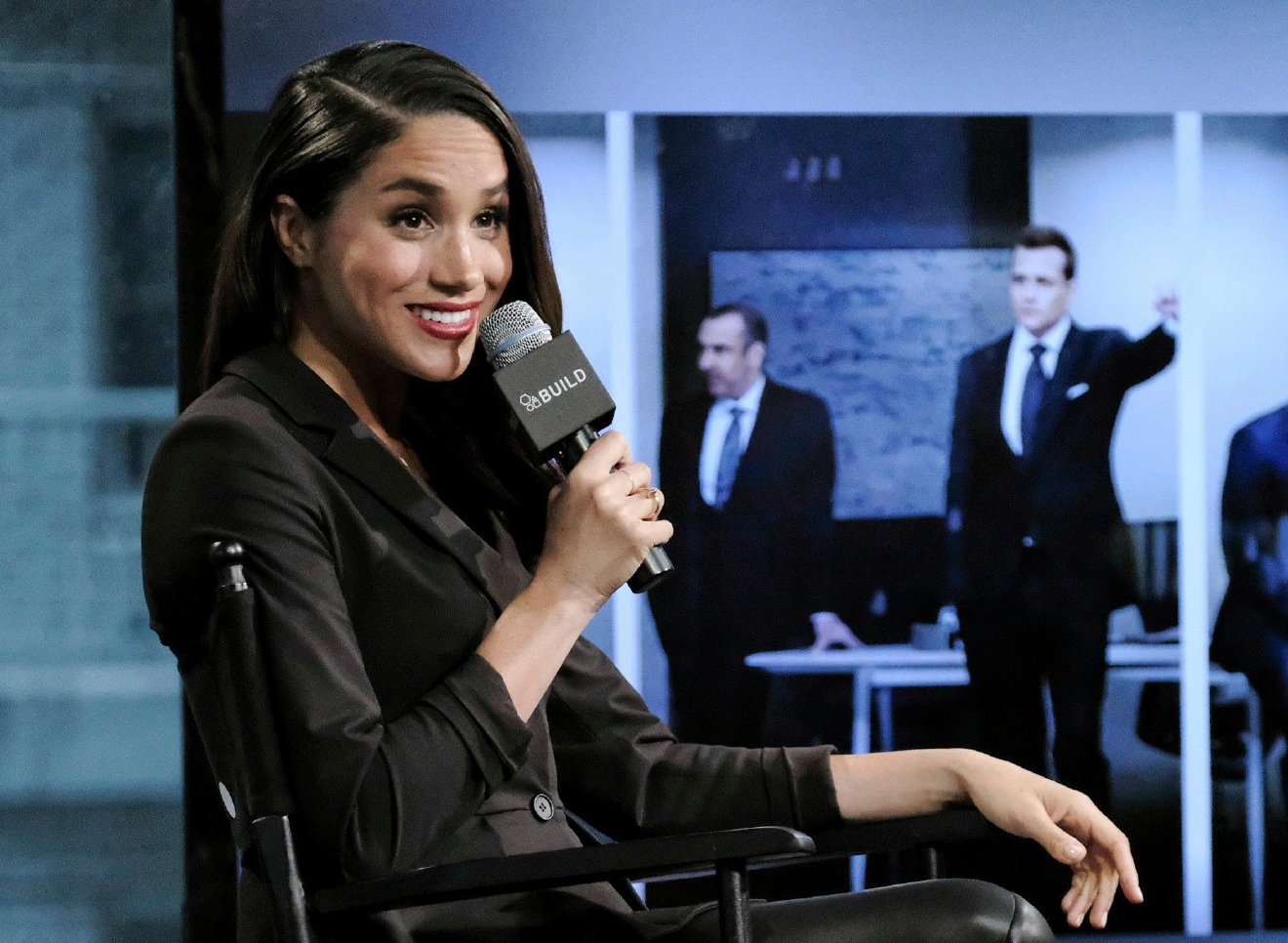 "FILE - In this Thursday, March 17, 2016 file photo, actress Meghan Markle participates in AOL's BUILD Speaker Series to discuss her role on the television show, ""Suits,"" in New York. (Photo by Evan Agostini/Invision/AP, File)"