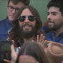 Jared Leto performs at pop-up concert in front of Austin's 'I love you so much' mural