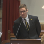 Spencer Lee recognized by Iowa Legislature for national title
