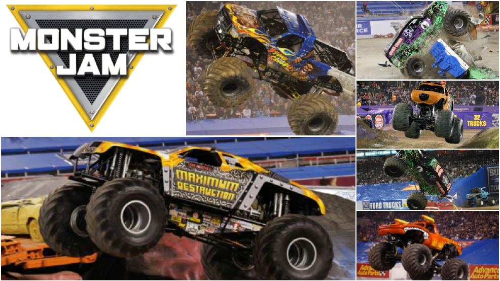 ENTER TO WIN tickets to Monster Jam
